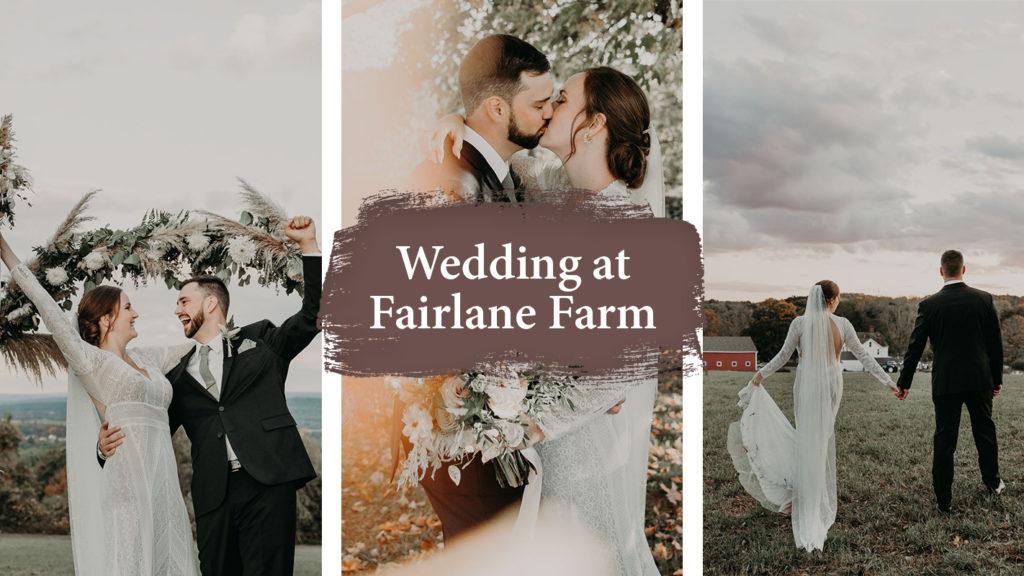 Fairlane Farm Wedding